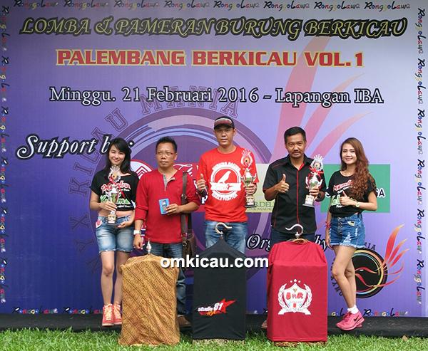 Palembang Berkicau - juara kenari
