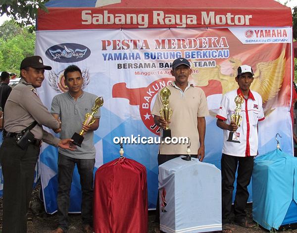Pesta Merdeka Yamaha-Bakung Team