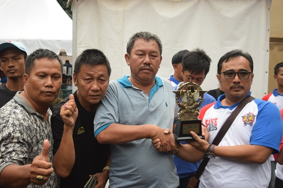 H Sukarto pemilik MS (Murai Sakti) raih juara di kelas paling utama