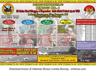Brosur Latpres Minggu Ke-1 New Permata BC, Sidoarjo, 6 November 2016