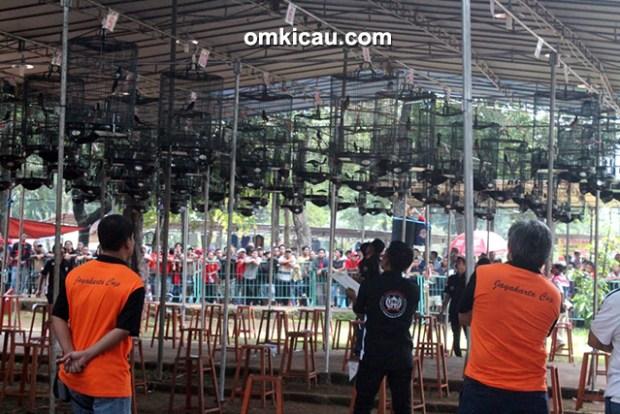 lomba burung berkicau Jayakarta Cup 2016