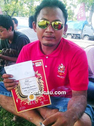 Om Rony, pemilik cendet Bohay
