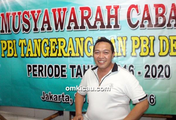 Mr King ketua PBI Cabang Tangerang