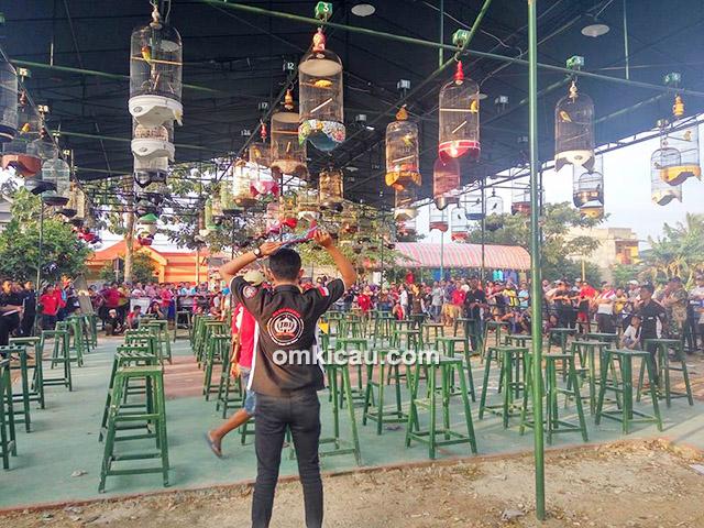 Lomba burung berkicau Hanoman Cup 1 Tangerang