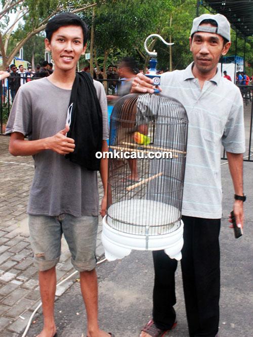 Lovebird Srimpi SLJ milik Om Nanang