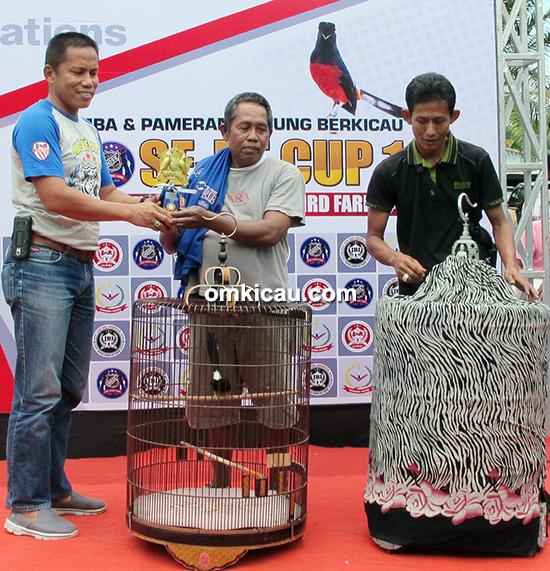 Lomba burung berkicau Hose BF Cup 1 Jambi