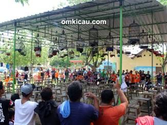 Lomba burung Anniversary GRB Mondokan Sragen