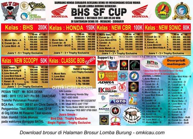 BHS SF Cup