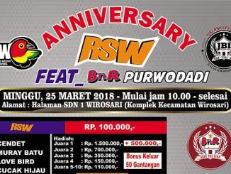 Anniversary RSW feat BnR Purwodadi