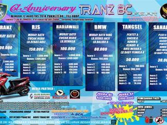 1st Anniversary Tranz BC