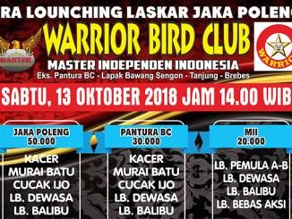 Pra Launching Laskar Jaka Poleng