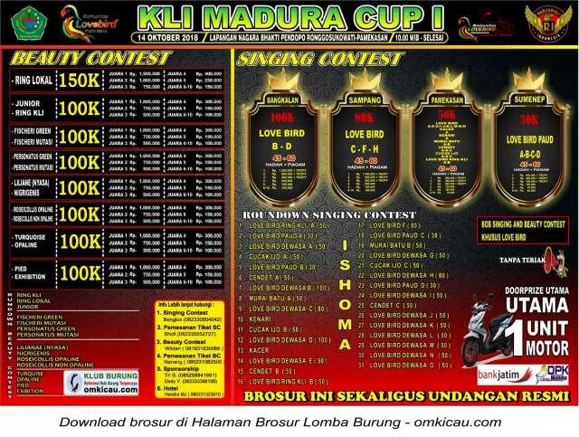 KLI Madura Cup I