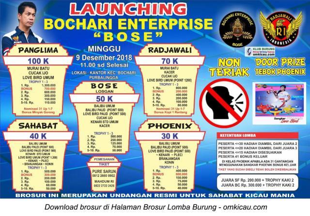 Launching Bochari Enterprise