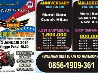 1st Anniversary Malioboro Enterprise