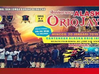 Anniversary Alaska Oriq Jaya