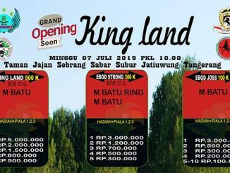 Grand Opening King Land