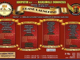 Grand Launching Adipatih BC