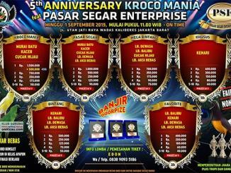 5th Anniversary Kroco Mania