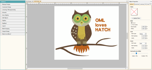 CLASS 1 OWL FINISHED