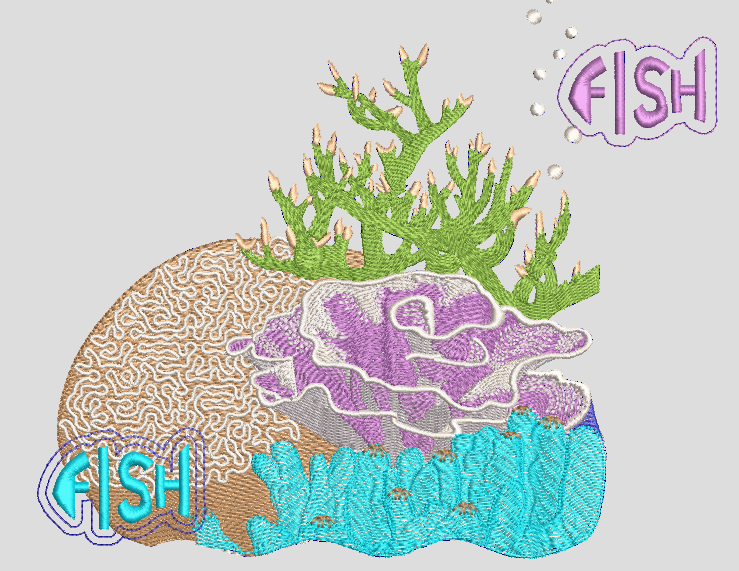 FISH LETTERING