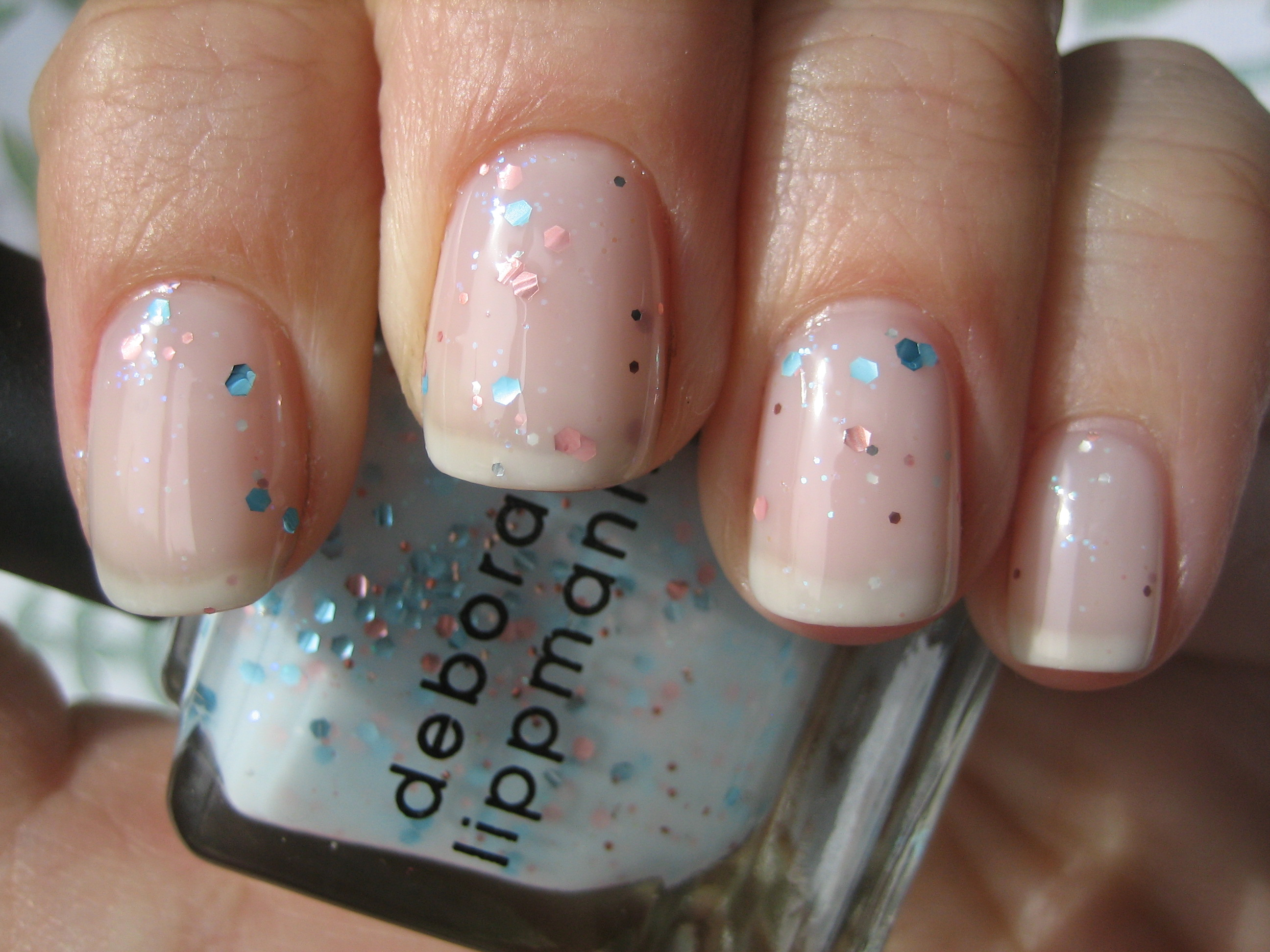 Deborah Lippmann\'s \'Glitter In The Air\' – swatches & review ...