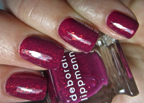 DL Raspberry Beret swatch 2