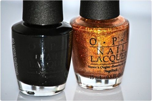 OPI Black Spotted & Goldeneye