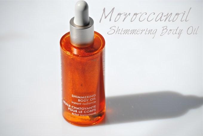 Moroccanoil Shimmering Body Oil opener