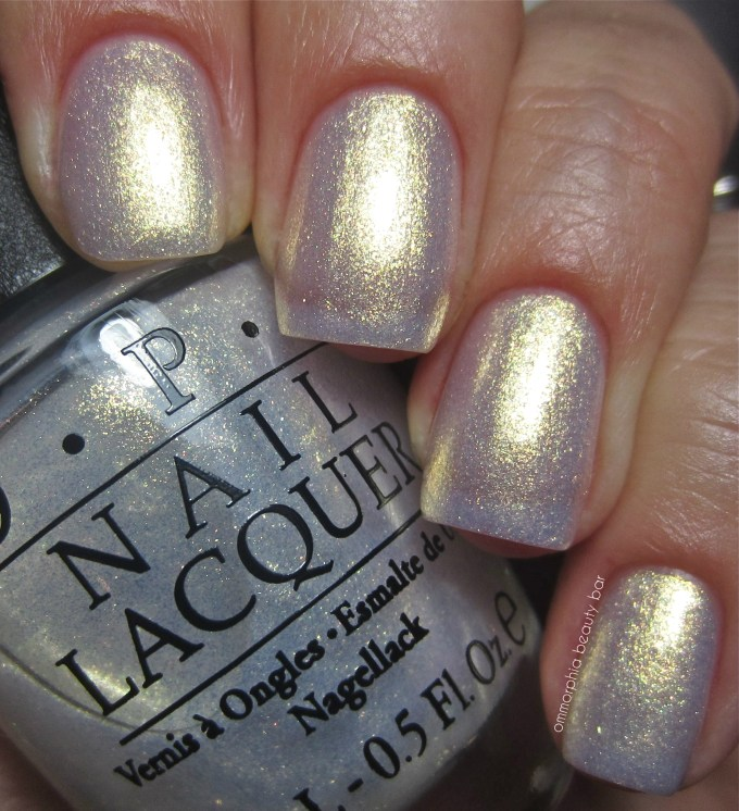 OPI Ski Slope Sweetie swatch 2
