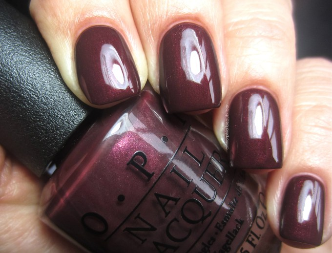 OPI Sleigh Ride for Two swatch