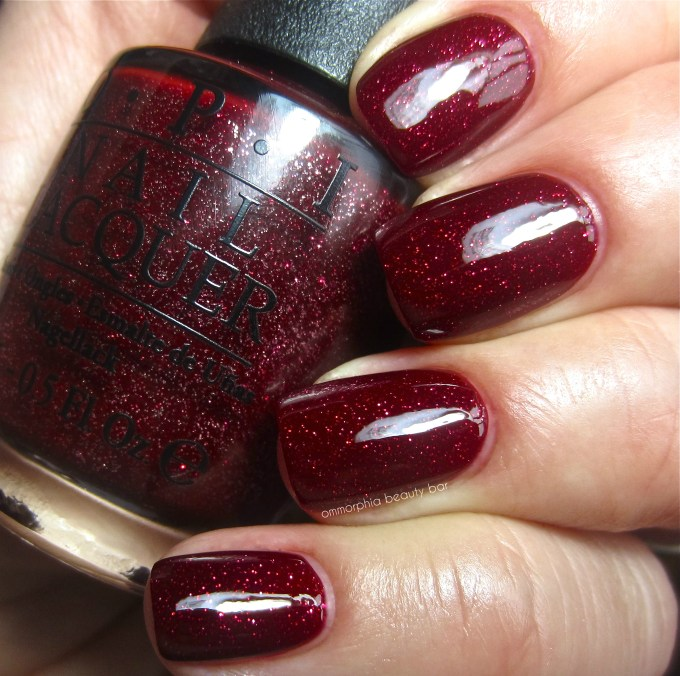 OPI Underneath the Mistletoe swatch
