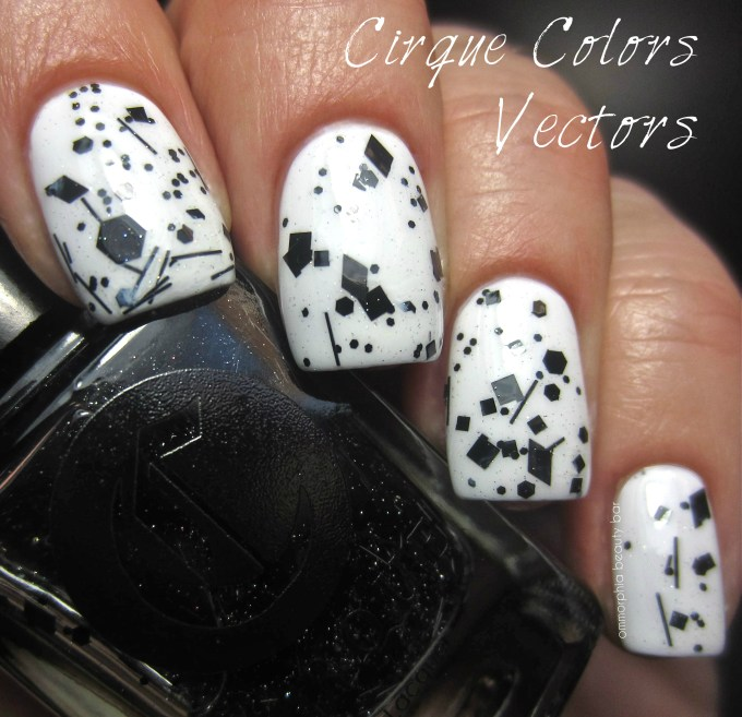 CIrque Vectors swatch over Chanel Eastern Light