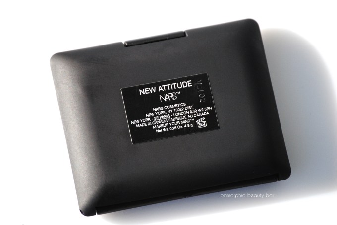 NARS New Attitude label