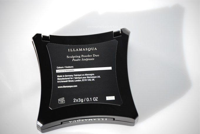 Illamasqua Sculpting Powder Duo label
