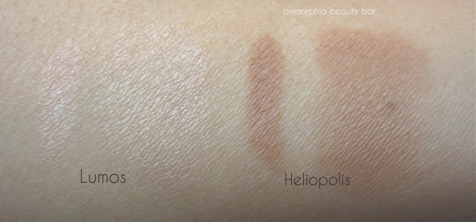 Illamasqua Sculpting Powder Duo swatch 2