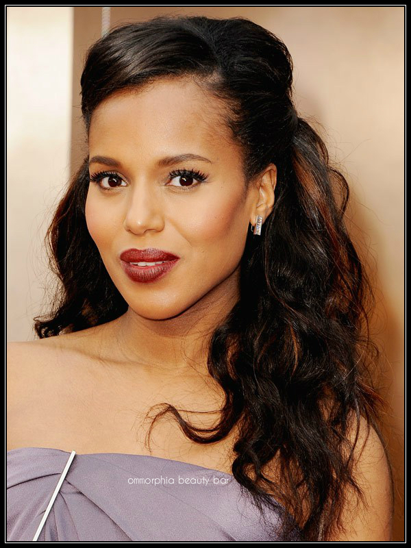 Kerry Washington makeup Oscars 2014
