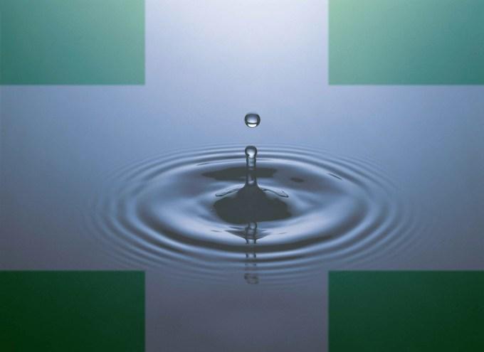 Water Green Cross