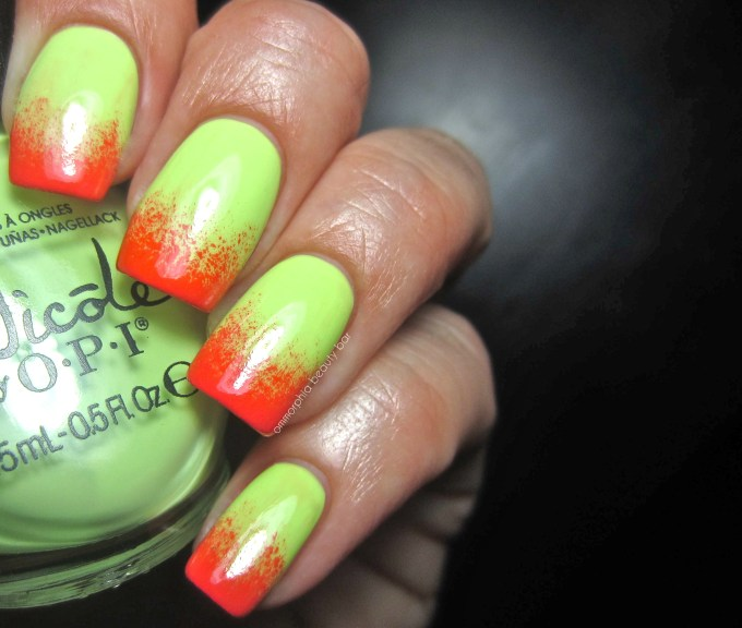 NOPI Lay it on the Lime watermelon mani