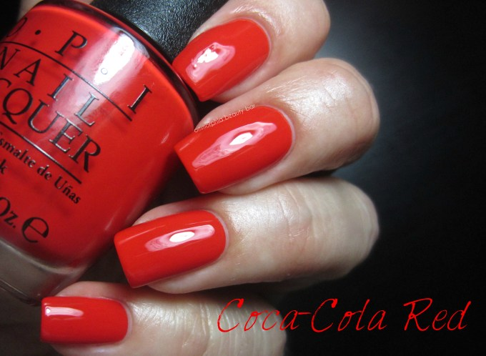 OPI Coca-Cola Red swatch