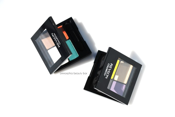 Revlon Rio Rush palettes with covers