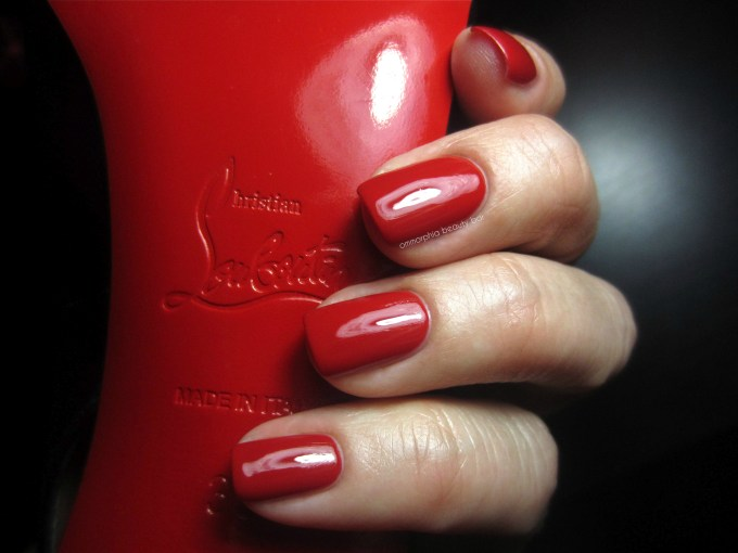 Rouge Louboutin swatch 3