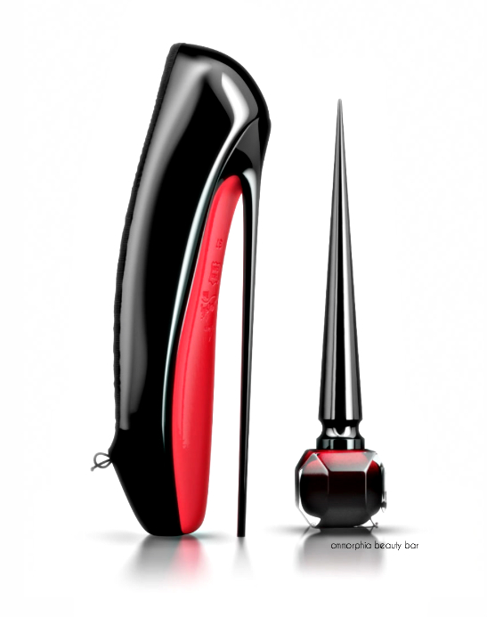 Rouge Louboutin with shoe