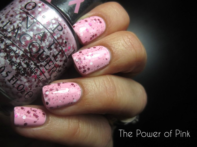 OPI The Power of Pink swatch