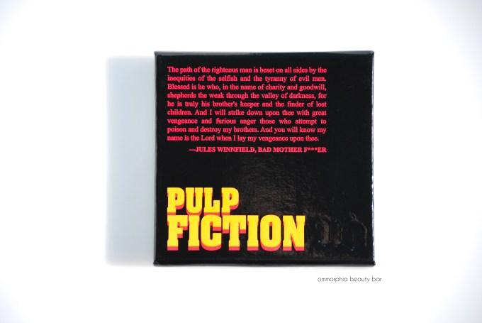 UD Pulp Fiction palette closed