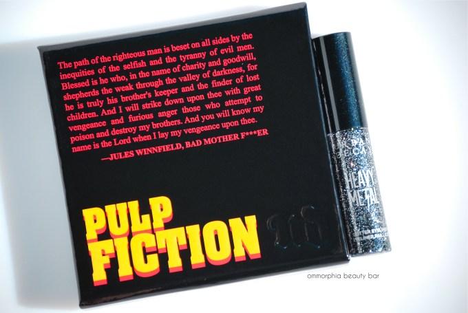 UD Pulp Fiction palette & Glitter eyeliner duo