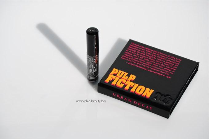 UD Pulp Fiction palette & Glitter eyeliner