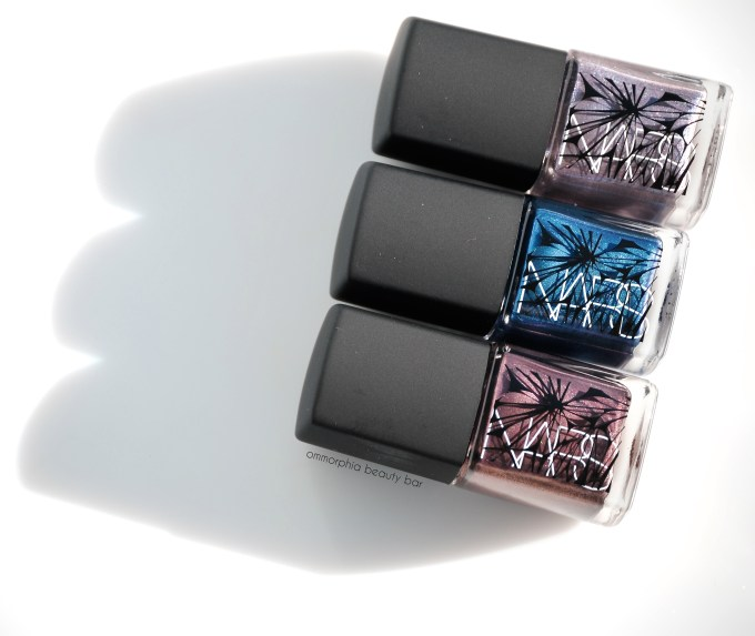 NARS Holiday 2014 lacquers trio 2