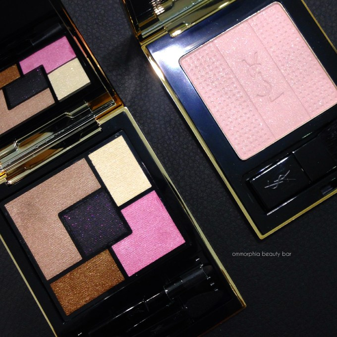YSL x GoogleGlass Spring 2015 collection palettes open