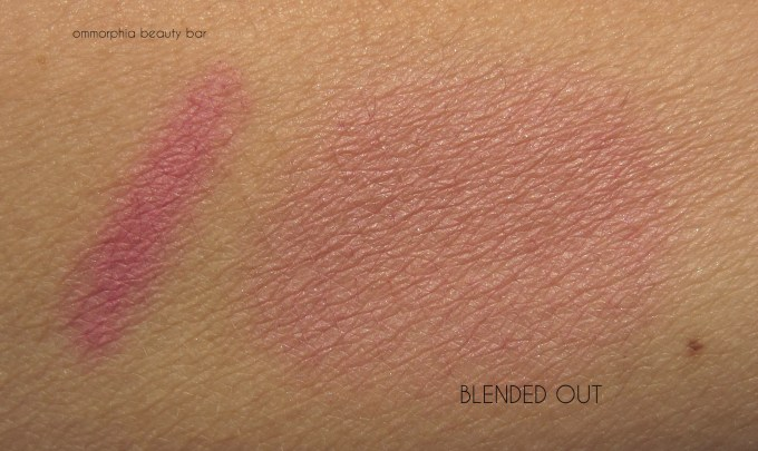 UD Naked On The Run Blush swatch
