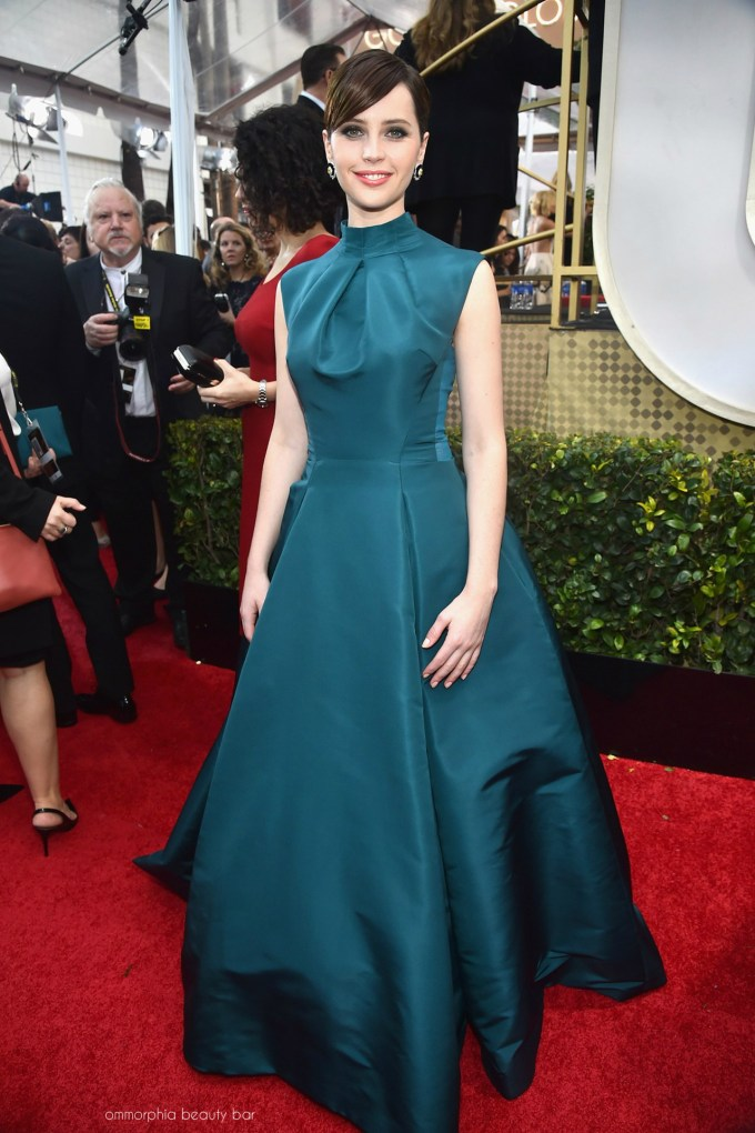 Golden Globes 2015 Felicity Jones